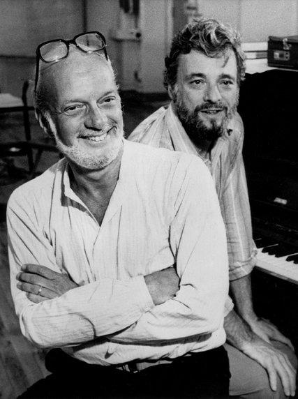 Hal Prince & Stephen Sondheim