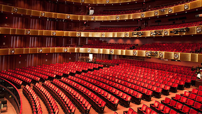 Auditorium of the Metropolitan Opera House, New York