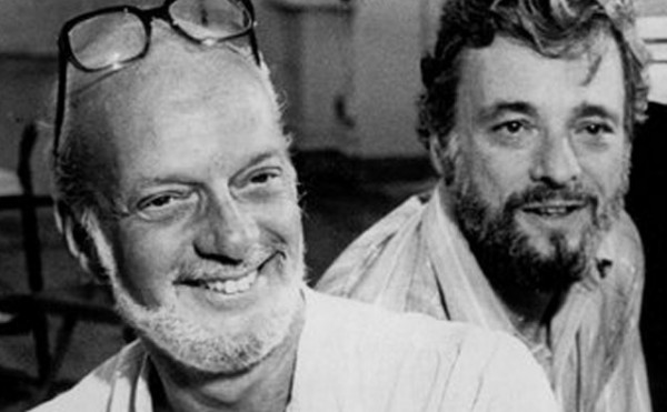 Harold Prince with Stephen Sondheim