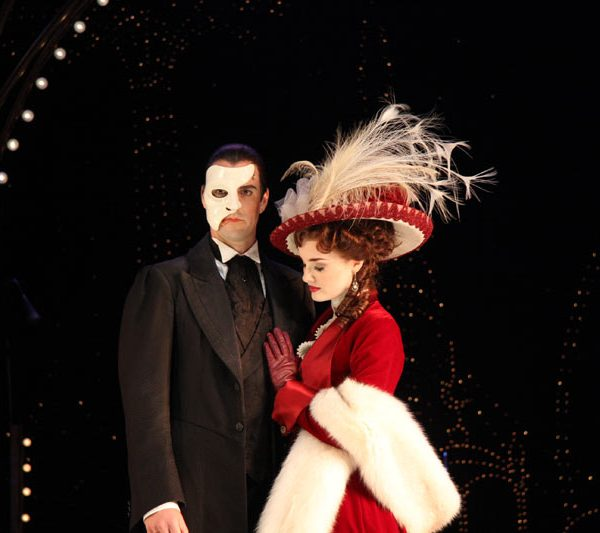 Australian Production of Love Never Dies starring Anna O'Byrne and Ben Lewis. Image by Matt Edwards